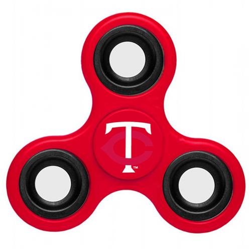 MLB Minnesota Twins 3 Way Fidget Spinner A40 - Red