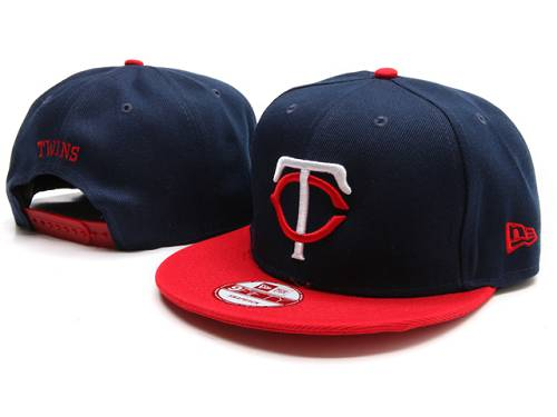MLB Minnesota Twins Stitched Snapback Hats 001