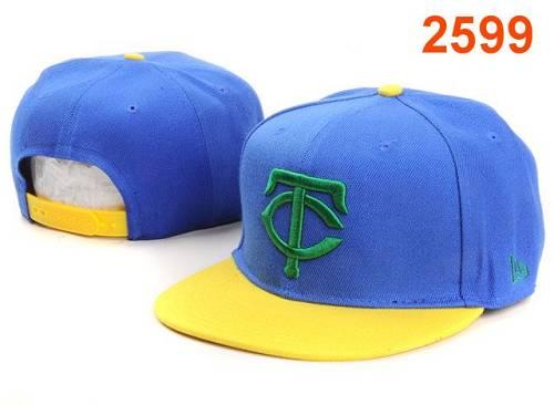 MLB Minnesota Twins Stitched Snapback Hats 002