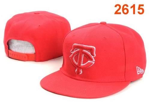 MLB Minnesota Twins Stitched Snapback Hats 003