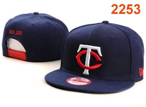MLB Minnesota Twins Stitched Snapback Hats 004