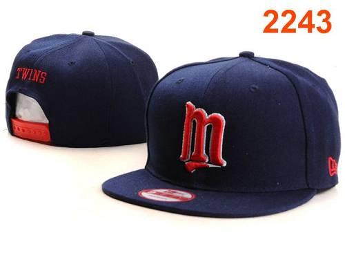 MLB Minnesota Twins Stitched Snapback Hats 005