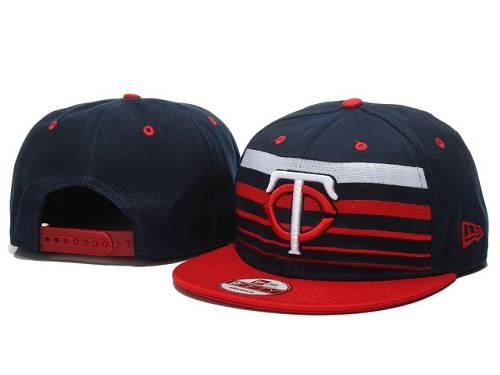 MLB Minnesota Twins Stitched Snapback Hats 007