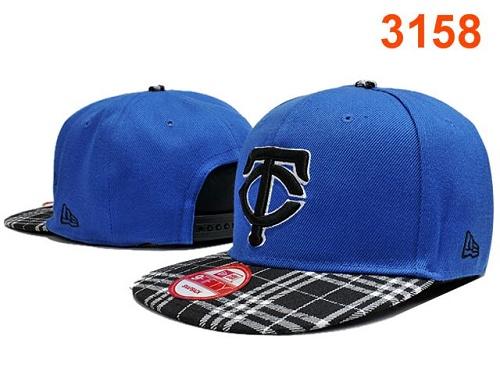 MLB Minnesota Twins Stitched Snapback Hats 009