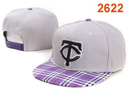 MLB Minnesota Twins Stitched Snapback Hats 010