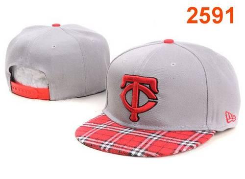 MLB Minnesota Twins Stitched Snapback Hats 011