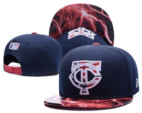 MLB Minnesota Twins Stitched Snapback Hats 014