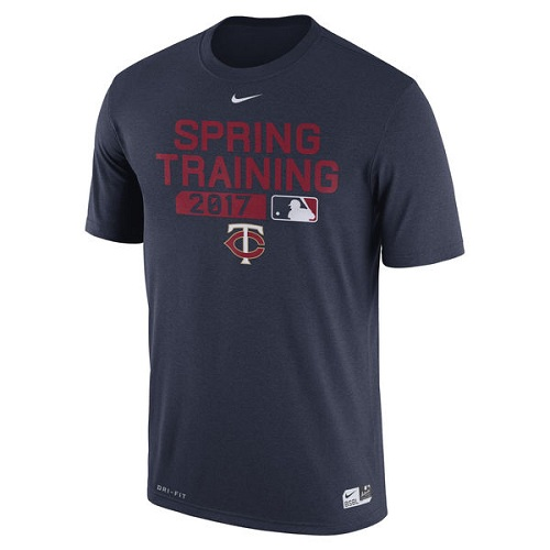 MLB Men's Minnesota Twins Nike Navy Authentic Collection Legend Team Issue Performance T-Shirt
